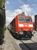 aw-dessau/82571/br-185-ausgestellt-im-aw-dessau BR 185 ausgestellt im AW Dessau September 2009