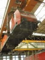 aw-dessau/82695/br-145-wird-transportiert-vorfuehrung-im BR 145 wird transportiert, Vorführung im Aw Dessau September 2009