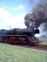bw-stasfurt/83486/br-41-unter-dampf-im-juni BR 41 unter Dampf im Juni 2005 im Bw Staßfurt