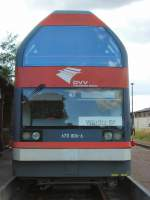 doppelstocktriebwagen/82525/s-tirnansicht-br-670-in-oranienbaum S tirnansicht BR 670 (in Oranienbaum), September 2009
