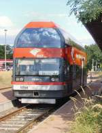doppelstocktriebwagen/82534/alfred-in-oranienbaum-br-670-- 'Alfred' in Oranienbaum (BR 670 - September 2009)