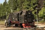 Brockenbahn/81930/am-wasserkran-drei-annen-hohne Am Wasserkran Drei Annen Hohne