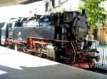 Harzquerbahn/113098/dampflok-der-hsb-in-nordhausen-nord Dampflok der HSB in Nordhausen Nord