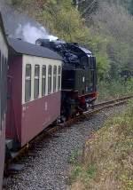 Selketalbahn/100998/unterwegs-von-stiege-nach-alexibad-oktober Unterwegs von Stiege nach Alexibad, Oktober 2010