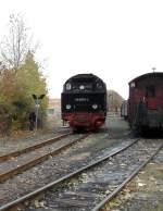 Selketalbahn/101589/rangierfahrt-in-harzgerode Rangierfahrt in Harzgerode
