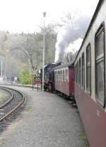 Selketalbahn/104127/aufenthalt-in-maegdesprung Aufenthalt in Mägdesprung