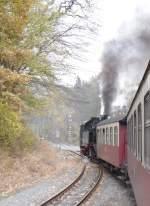 Selketalbahn/104226/ausfahrt-aus-maegdesprung Ausfahrt aus Mägdesprung