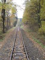 Selketalbahn/104227/streckengleis-nach-harzgerode Streckengleis nach Harzgerode