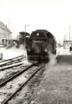 Selketalbahn/116015/dampf-in-hasselfelde-vor-1989 Dampf in Hasselfelde, vor 1989