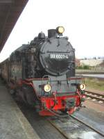 Selketalbahn/82037/99-6001-in-quedlinburg-dezember-2009 99 6001 in Quedlinburg, Dezember 2009