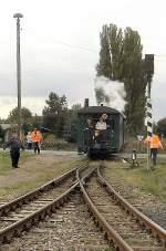 Dampfbetrieb/104332/ausfahrt-aus-siersleben-2005 AUSFAHRT AUS sIERSLEBEN, 2005