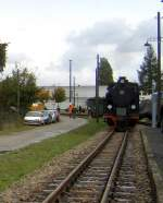 Dampfbetrieb/104361/einfahrt-benndorf-oktober-2005 Einfahrt Benndorf, Oktober 2005