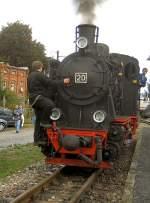 Dampfbetrieb/104438/lok-2o-in-benndorf Lok 2o in Benndorf